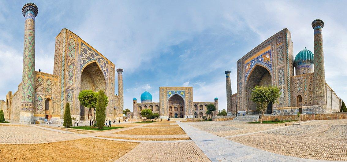 14-tägige Sonderzugreise von Turkmenistan durch Usbekistan nach Kasachstan